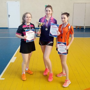 Студенты успешно выступили на соревнованиях по настольному теннису