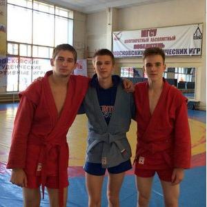 Самбисты Самарского университета стали золотыми и бронзовыми призерами