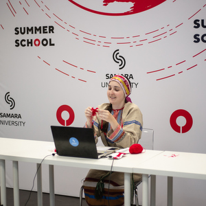 52 foreign students studied in Samara University international summer schools and learned how to cook Olivier salad online