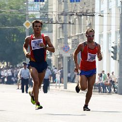 Спортсмены СГАУ победили в забеге на Всероссийском студенческом форуме