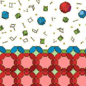 Новая программа предсказывает форму кристаллов, собирая их как Lego