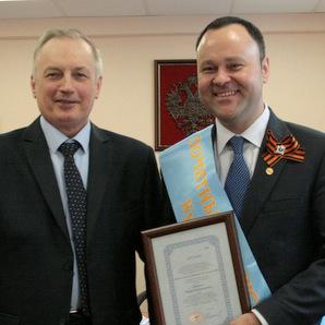 Игорь Ерёмин стал почётным выпускником КуАИ-СГАУ