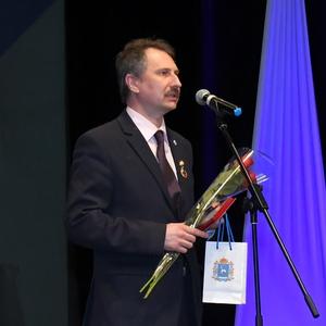 Андрей Прокофьев удостоен почетного знака