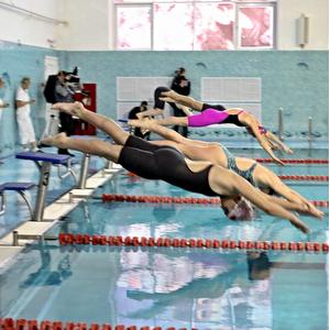 Завершились соревнования за Кубок совета ректоров по плаванию