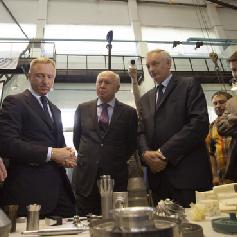 Министр образования и науки РФ Дмитрий Ливанов посетил Самарский университет