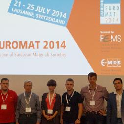 Молодые учёные СГАУ выступили на конференции «Junior Euromat»-2014