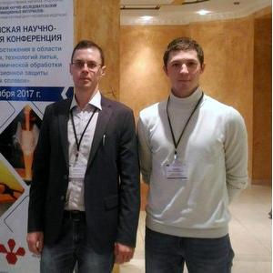 Артем Кабанов выступил на пленарном заседании всероссийской конференции в ВИАМ