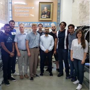 Аспиранты из ведущих европейских вузов приезжают в Самару за фундаментальными знаниями в области двигателестроения