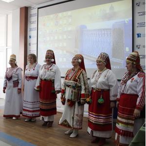Студенты узнали о мордовском этносе