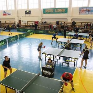 Теннисисты университета вошли в тройку лидеров
