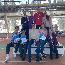 Сборная команда по легкой атлетике стала серебряным призером областной универсиады среди студентов