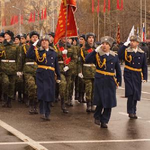 7 ноября состоялся Парад Памяти