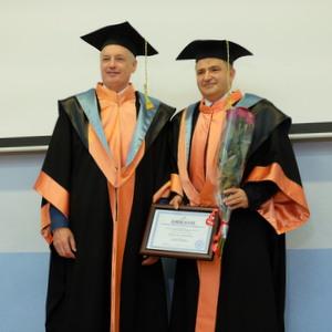 Лев Хасис стал почетным доктором Самарского университета