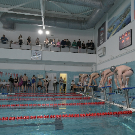 Сборная команда Самарского университета - бронзовый призер Кубка совета ректоров по плаванию