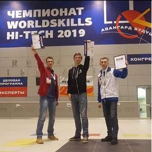 Samara University Team Won Silver at WorldSkillsHiTech Championship