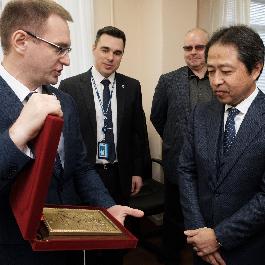 Самарский университет посетила делегация корпорации Mitsubishi Electric