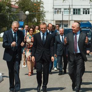 Визит в Самару министра образования и науки РФ Дмитрия Ливанова