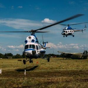 Студенты Самарского университета приняли участие в соревнованиях по вертолётному спорту