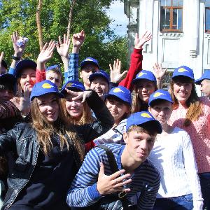 Студенты СГАУ приняли участие в первом параде студенчества