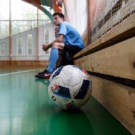 Футболисты университета - в тройке лидеров городского чемпионата