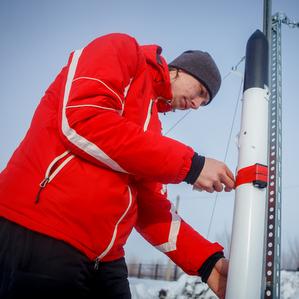 Китайские студенты участвовали в запуске учебных ракет на аэродроме Самарского университета