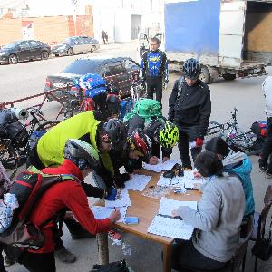 Велосипедисты провели многодневную велогонку