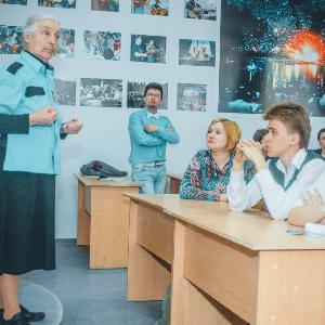 Студсовет института печати провел очередной книжный форум для абитуриентов