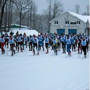 Студенты СГАУ приняли участие в лыжном марафоне «Сокольи горы»