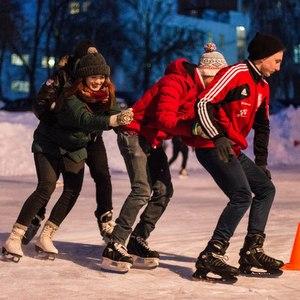 В университете состоялся традиционный ледовый праздник