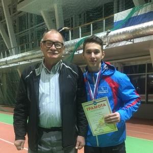 Владислав Шамарин финишировал первым на дистанции 60 метров