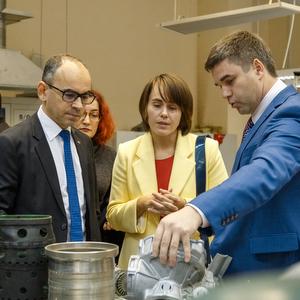 Президент АВТОВАЗа Ив Каракатзанис дал старт совместной с Самарским университетом программе целевой подготовки
