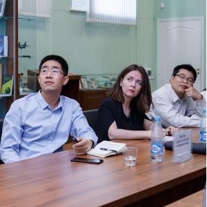 Состоялся визит делегации Шанхайского политехнического университета в Самарский университет