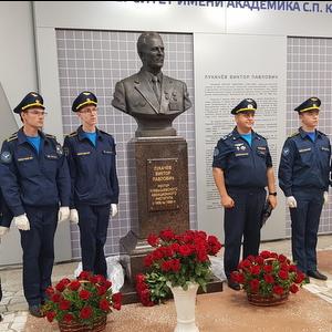 Открыты мемориальная доска и бюст Виктора Павловича Лукачева