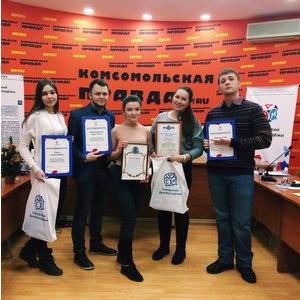 СМИ Самарского университета получили благодарности за поддержку городских акций