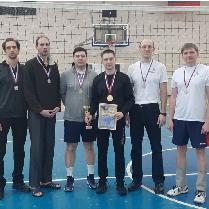 Сотрудники университета заняли 2-е место в волейбольном турнире