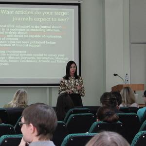 В Самарском университете прошли мероприятия по повышению уровня академической грамотности