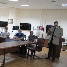 Кирилл Ларин рассказал в СГАУ об оптической визуализации биотканей