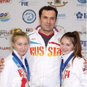 Виолетта Храпина стала чемпионкой Европы по фехтованию