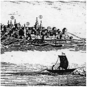 Найдено первое достоверное изображение Самары начала 18 века