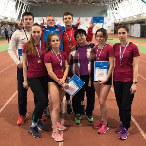 Легкоатлеты стали бронзовыми призерами областной универсиады!