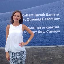 Екатерина Кулагина: «70% сотрудников«Bosch»в Самаре – выпускникиСГАУ»