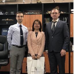 Университет посетила профессор Института Права Цзилиньского университета Xirong Ren