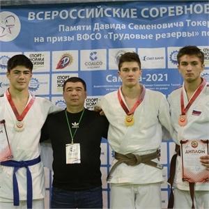 Дзюдоисты Самарского университета стали призерами областных и всероссийских соревнований