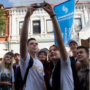 Самарский университет принял участие во втором региональном фестивале студентов