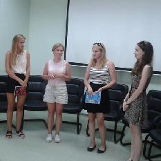 В Самарском университете проходит летняя языковая школа