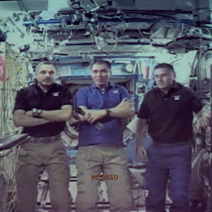 В СГАУ состоялся телемост с Международной космической станцией
