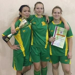 Женская сборная по мини-футболу стала призером чемпионата России