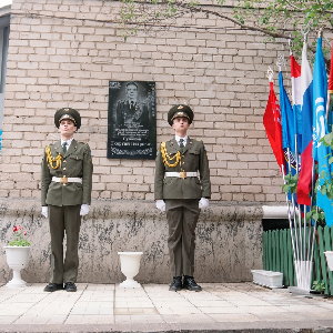 В Самарском университете отметили день рождения генерала Г.П. Губанова