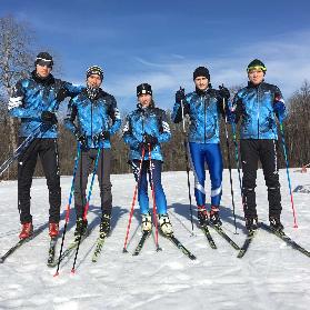 Сборная команда по лыжному спорту – серебряные призеры областной универсиады
