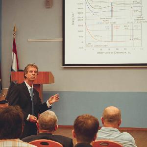 В СГАУ состоялся визит профессора Майкла Хэвена